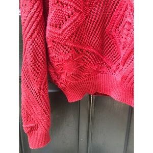 Vintage Sweaters - ✨ Amazing Vintage DKNY Slouchy Red Sweater